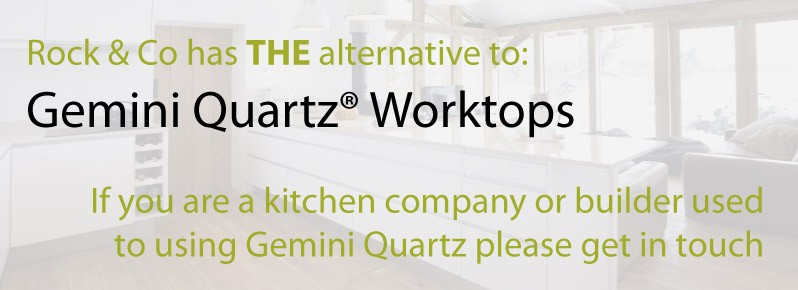 gemini quartz worktops