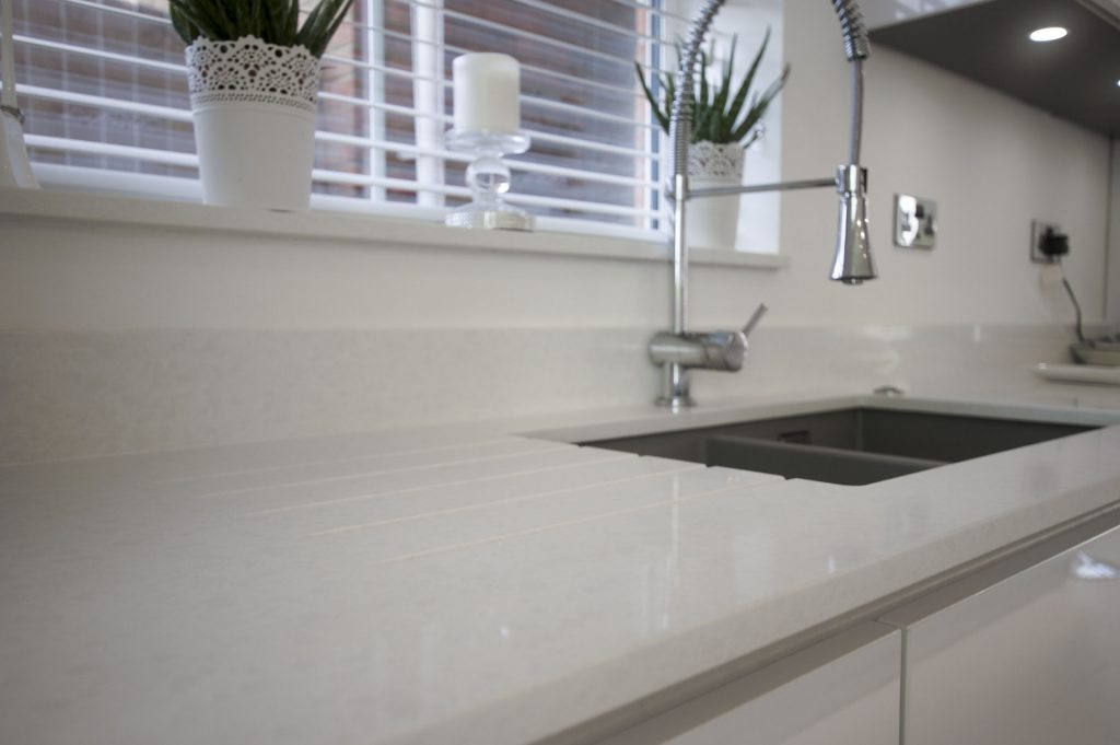 Urban Quartz kitchen worktops