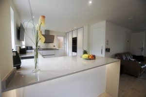 quartz kitchen worktop installed in barnet