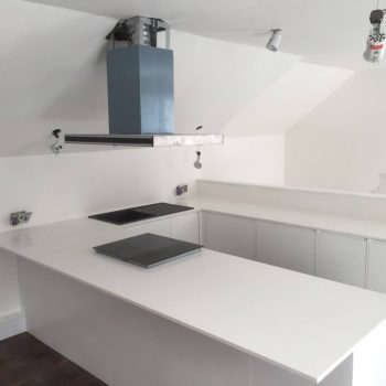 bianco puro urban quartz kitchen worktops
