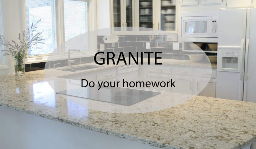 granite worktops do your homework