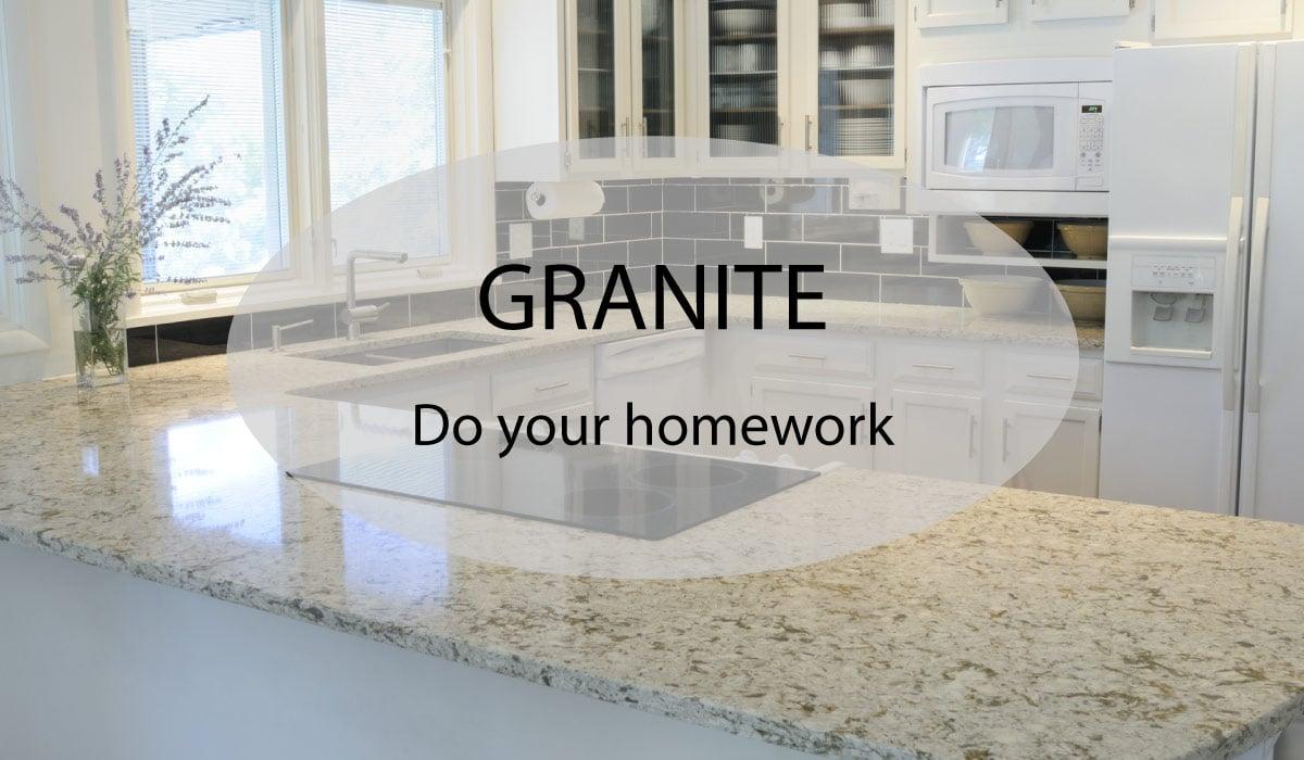 Granite Worktops – Do your homework