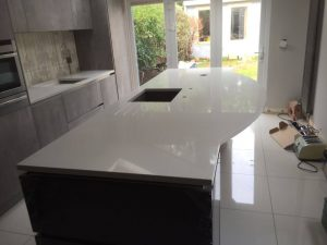 bianco de lusso urban quartz kitchen worktops