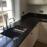 cosmico nero urban quartz kitchen worktops