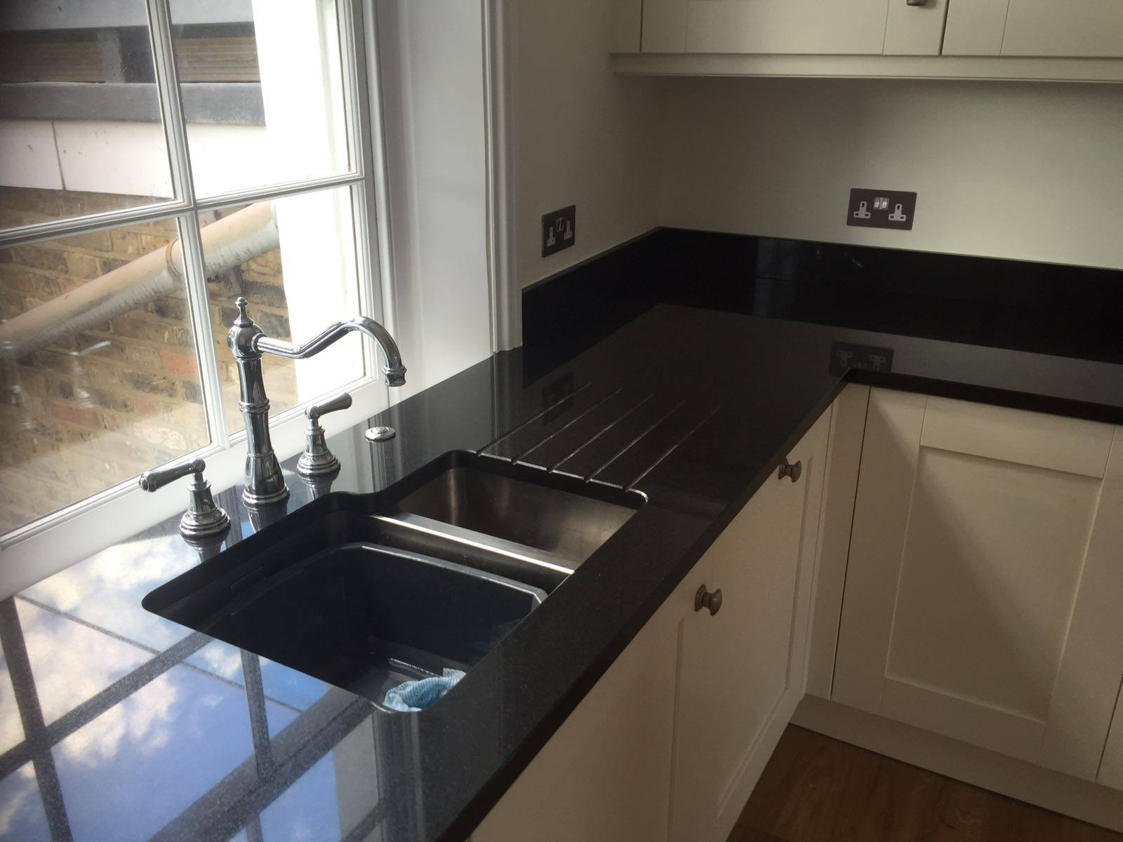 Black Quartz Worktops Updated Rock And Co Granite Ltd