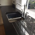 cosmico nero urban quartz kitchen worktops