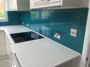 coloured glass splashbacks ral 5021
