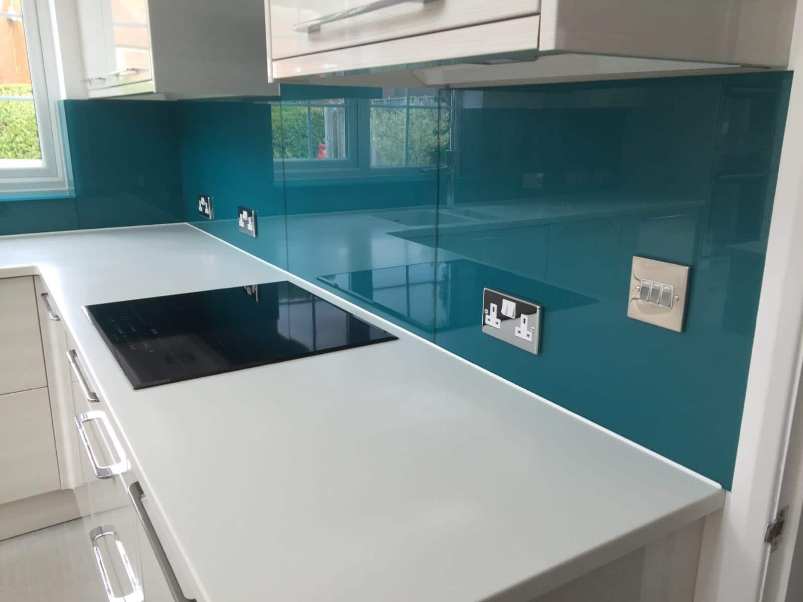 Image result for glass splashbacks