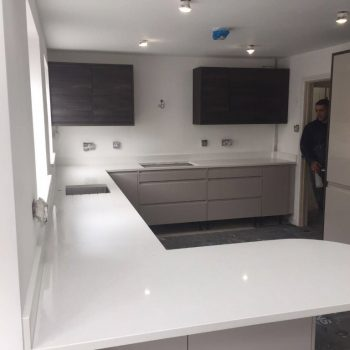 pure white quartz bianco puro urban quartz kitchen worktops