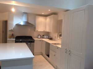 urban quartz kitchen worktop fitted