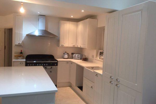 urban quartz kitchen worktop fitted