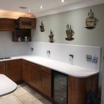 carrera urban quartz kitchen worktops installed