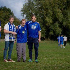 hertford disabled football team sponsorship