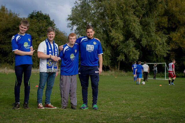 Hertford FC Disabled Team Sponsorship
