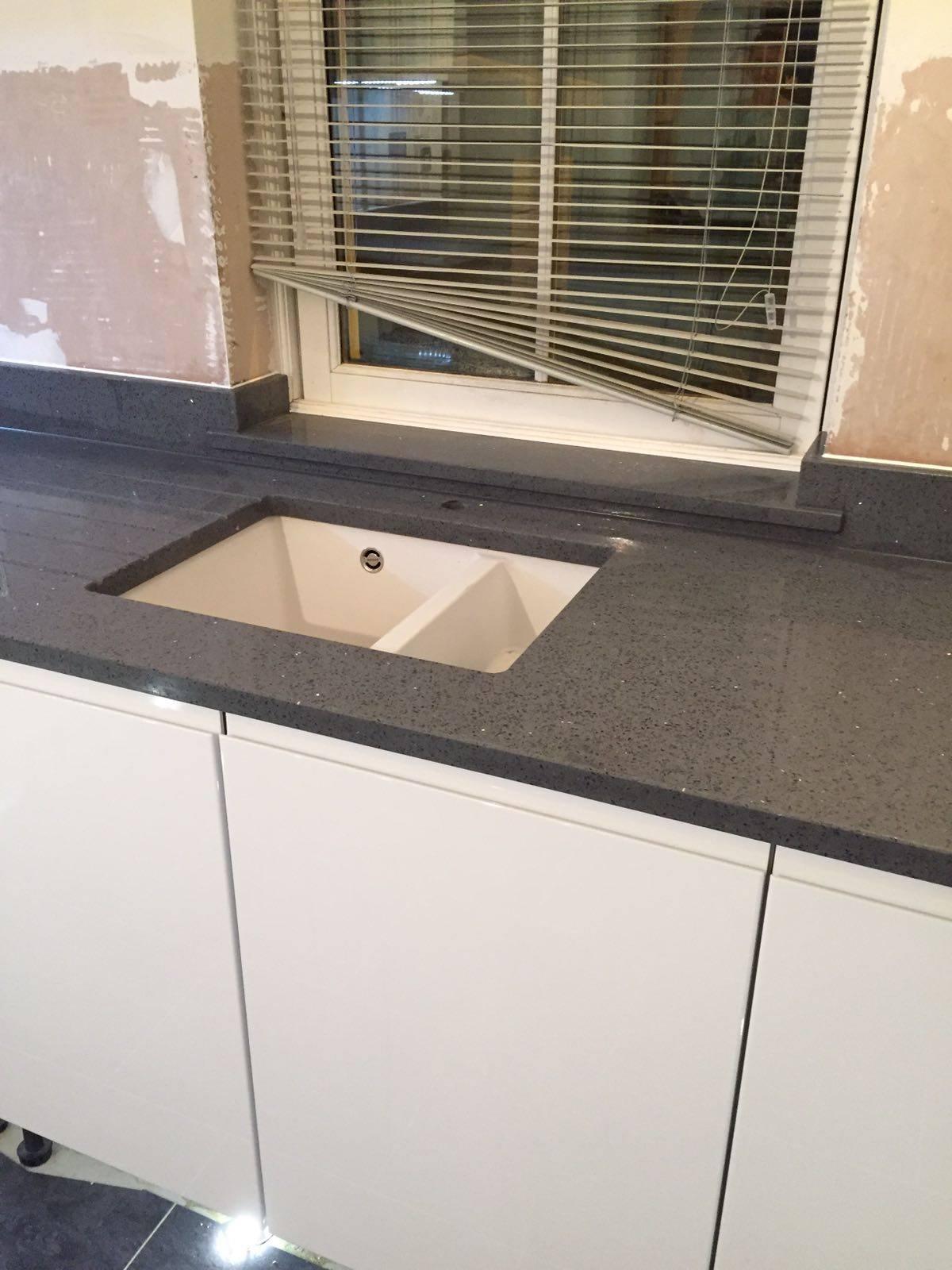 Grigio Scuro Stella Dark Grey Mirror Rock And Co Granite Ltd