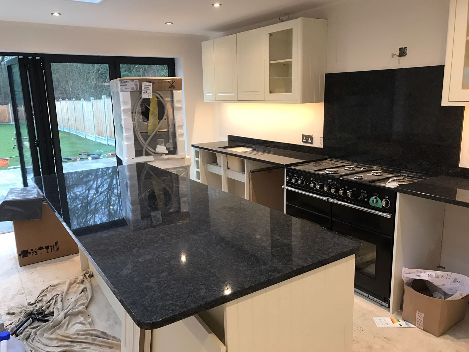 Granite Worktops Kitchen Steel Grey Granite By Rock Co Rock And Co Granite Ltd