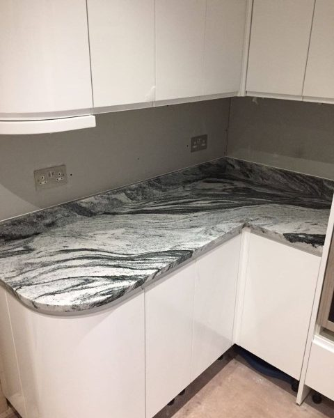 White Marble Kitchen Worktops: Rock & Co