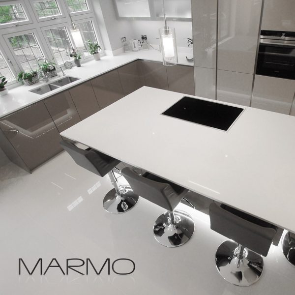 marmostone crystallized glass worktop