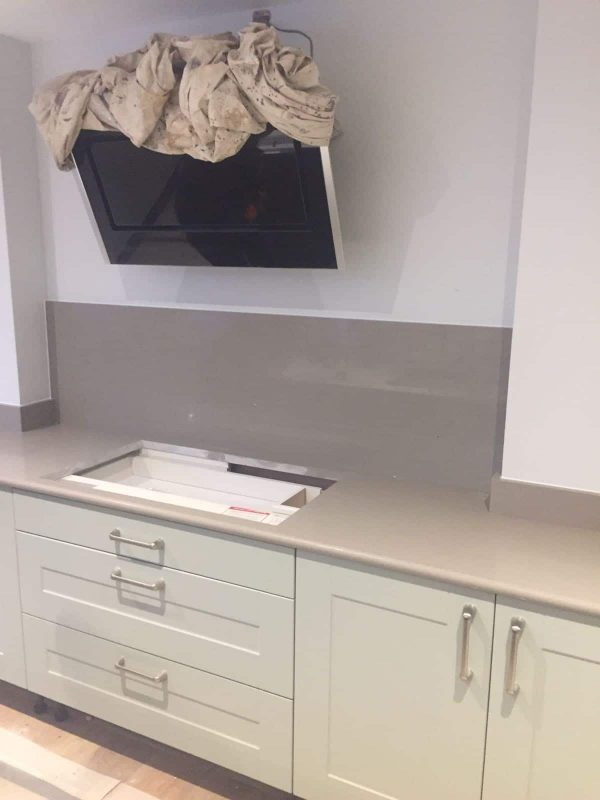 crema stella cream starlight urban quartz kitchen worktops and upstands