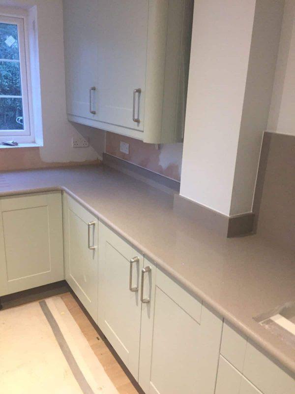 Matching Quartz Upstands Rock And Co Granite Ltd
