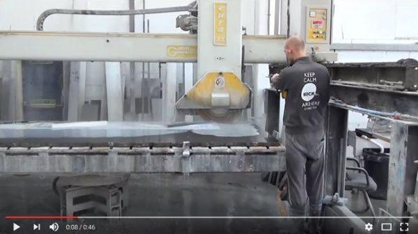 gmm cutting black granite