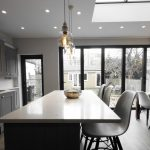skylights in kitchen