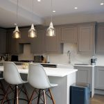 tray ceilings in kitchen