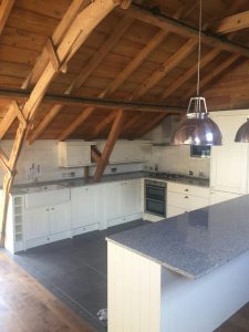 champagne aurora granite worktops barn conversion