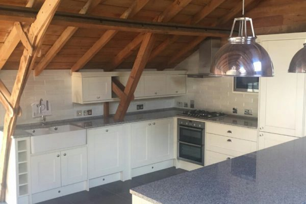 champagne aurora granite worktops barn conversion