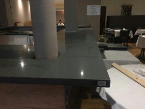 grigio scuro pura urban quartz bar area worktops