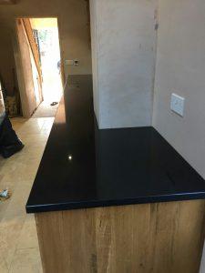 nero de lusso black quartz worktops