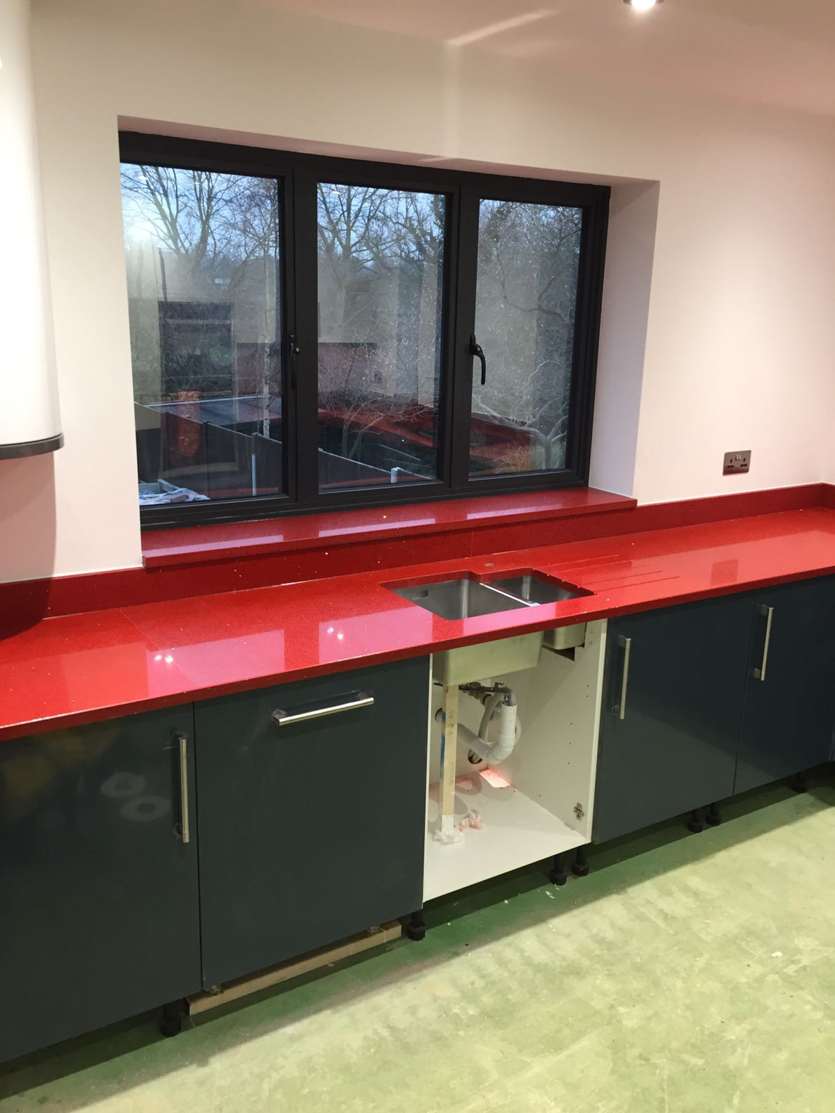 Grey Kitchens Are Taking Over Rock And Co Granite Ltd