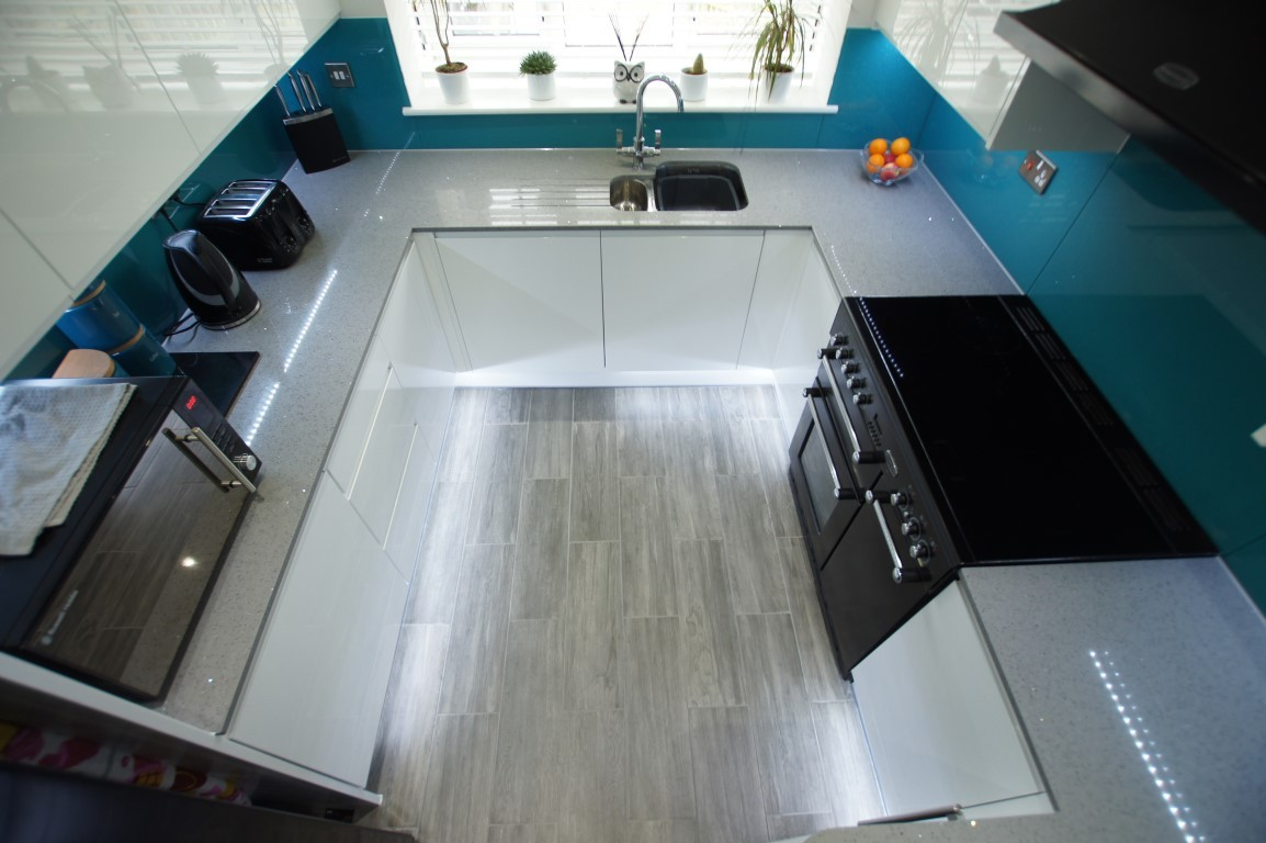 U- Shape Kitchens