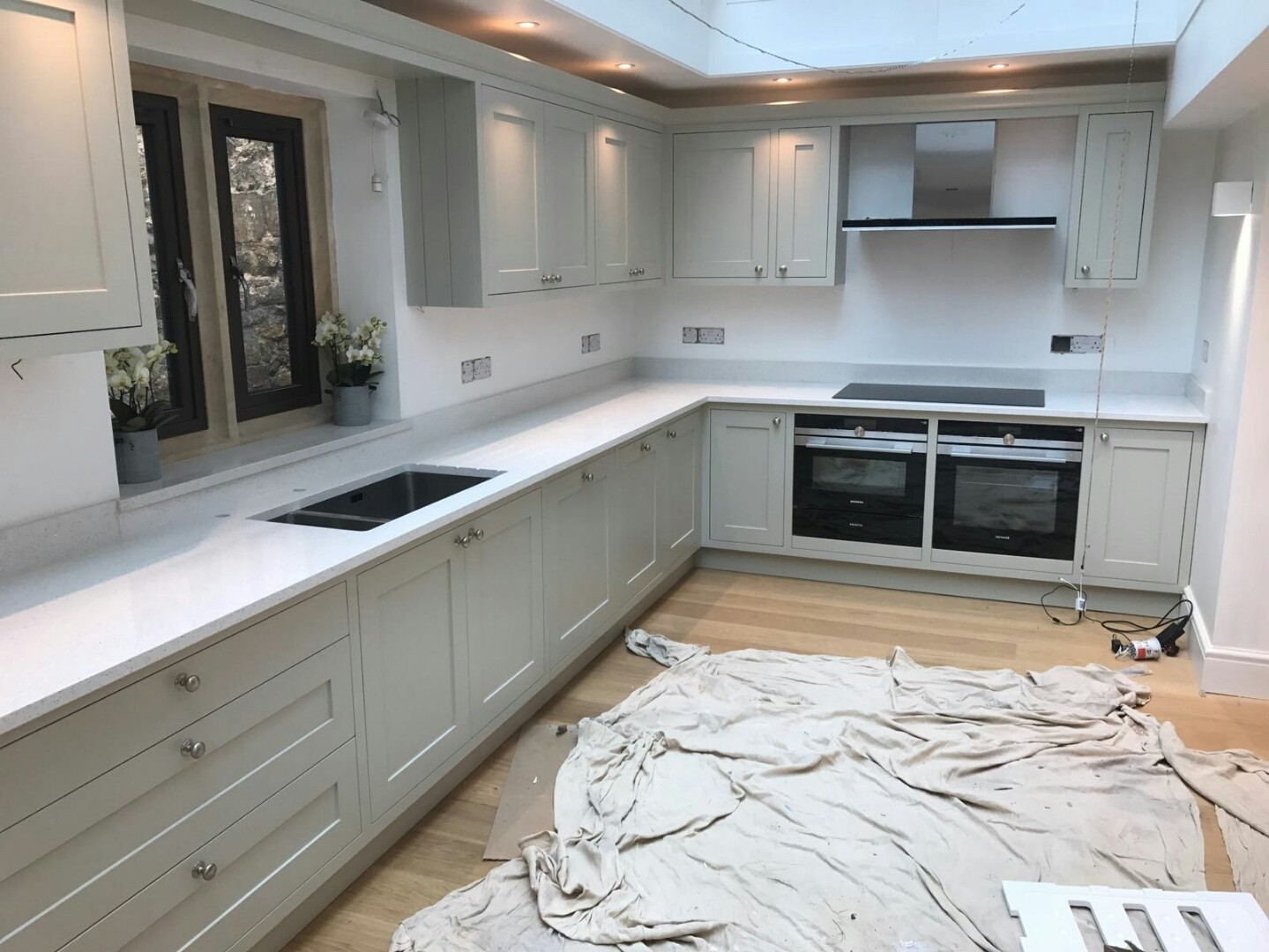 L-Shape Kitchens - Rock and Co Granite Ltd