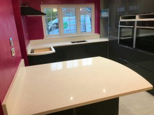 bianco stella white starlight quartz worktops harlow essex