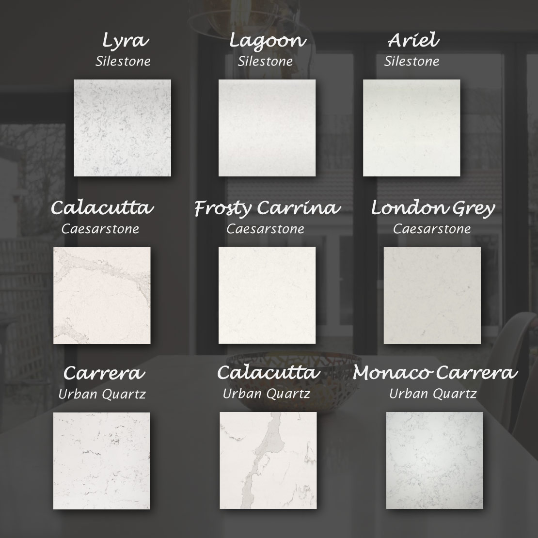 The Quartz Alternatives to Carrara Marble Worktops