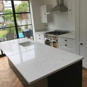 carrera quartz worktops london