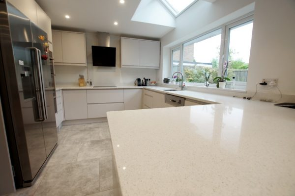 bianco stella white starlight quartz harpenden