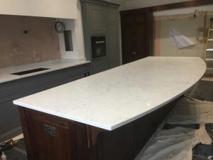 monaco carrera quartz worktops