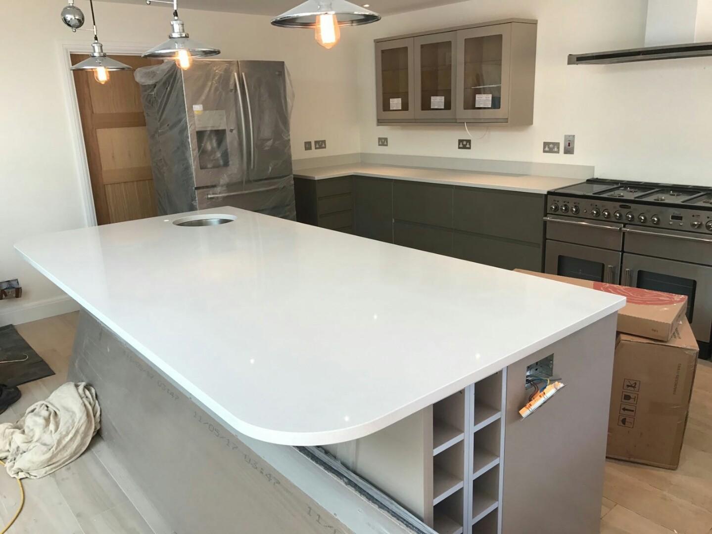 Bianco De Lusso - Amersham, Bucks - Rock and Co Granite Ltd
