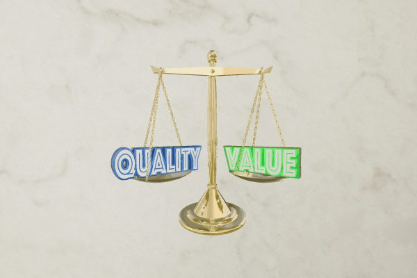 quality vs value