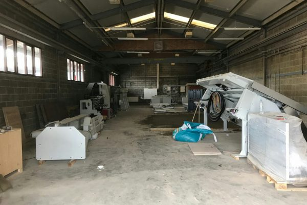rock and co cambridge store update new cnc saw going in