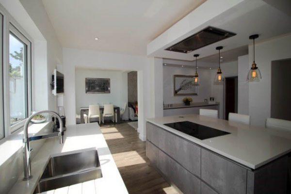 bianco de lusso quartz worktops blax kitchens