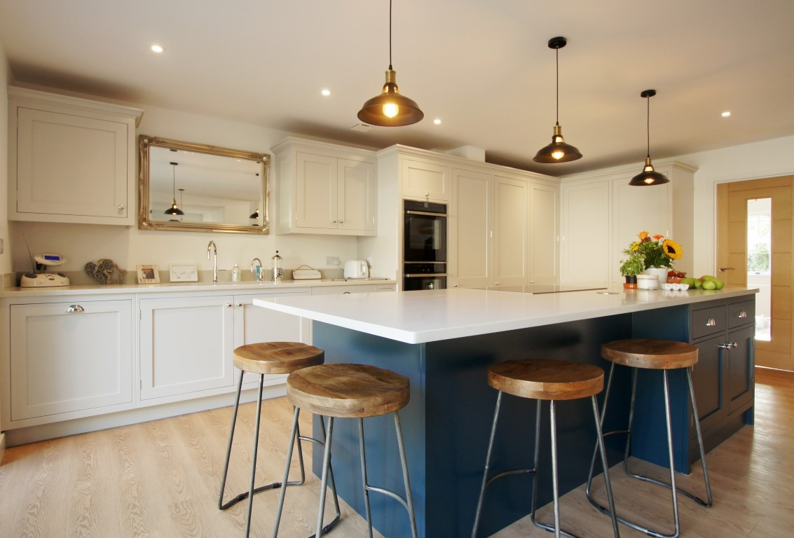 Mirrors are a Talking Point in the Kitchen- Updated
