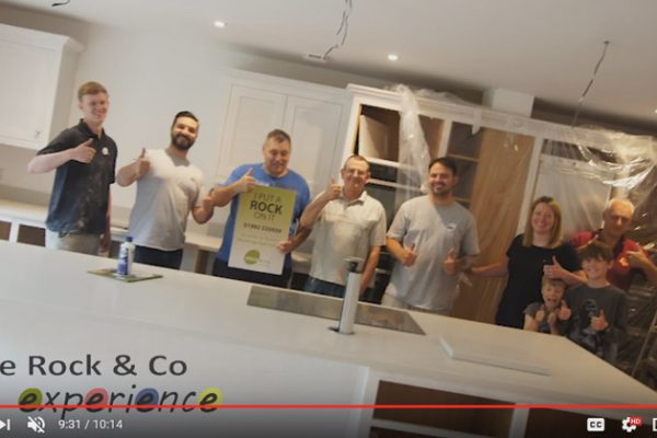 london grey carrera quartz installation video