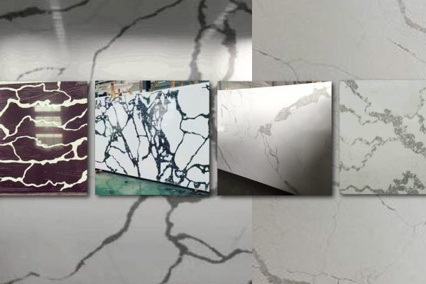new quartz colours marble calacutta art in stone expressionist