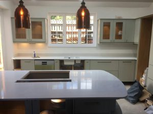 bianco carrina quartz worktops