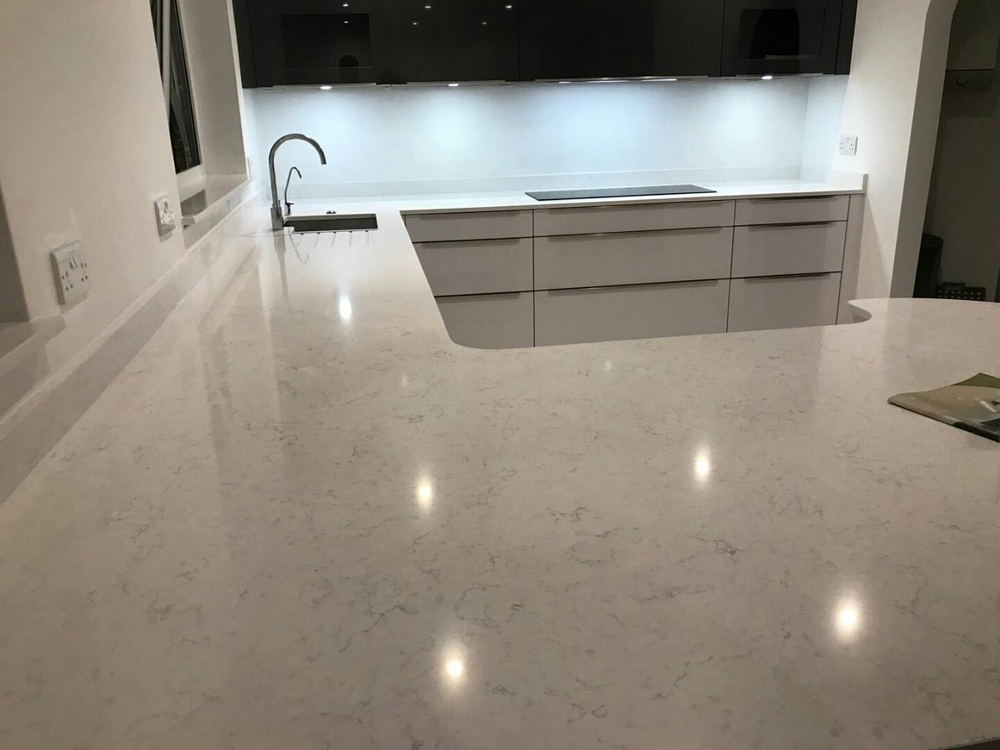 Crl White Water Ickenham Middlesex Rock And Co Granite Ltd