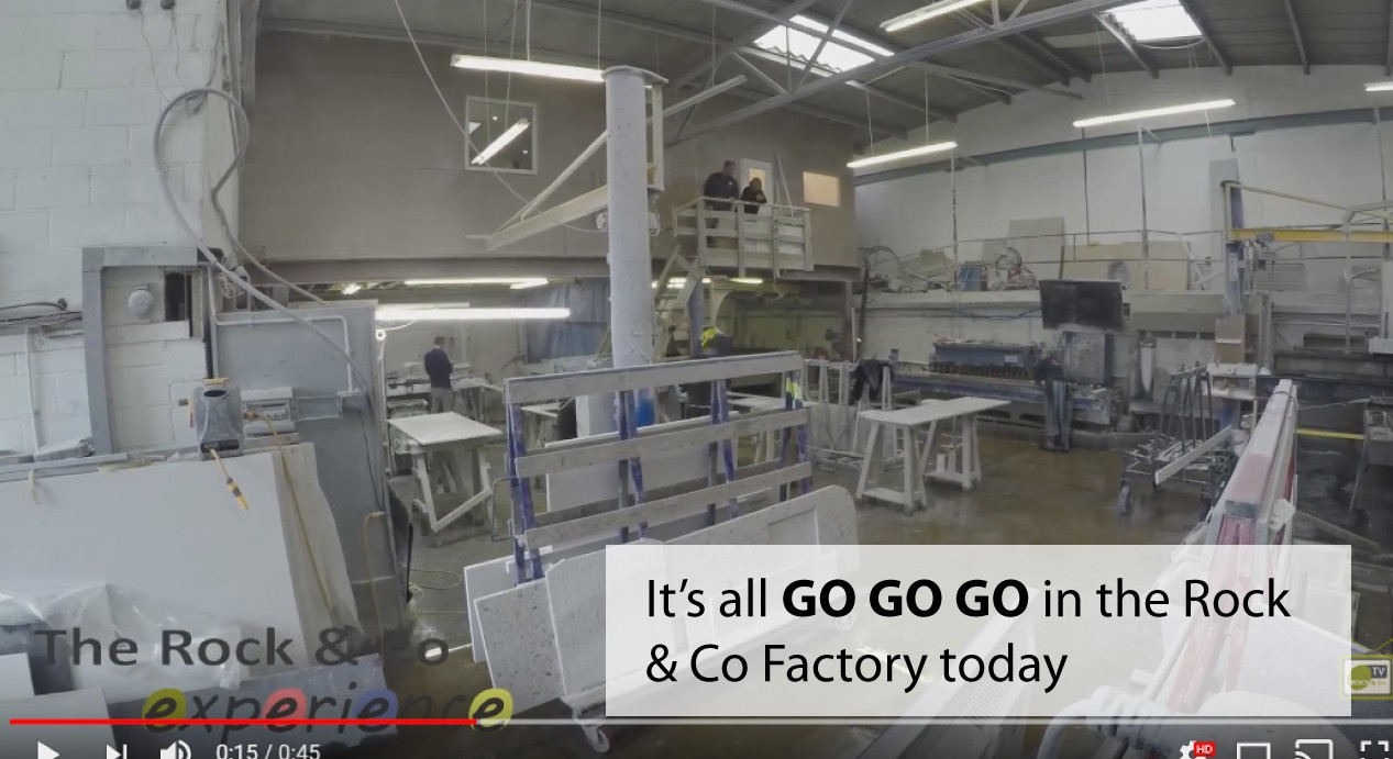 Watch the factory in full swing earlier today