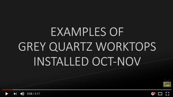 grey quartz worktop examples